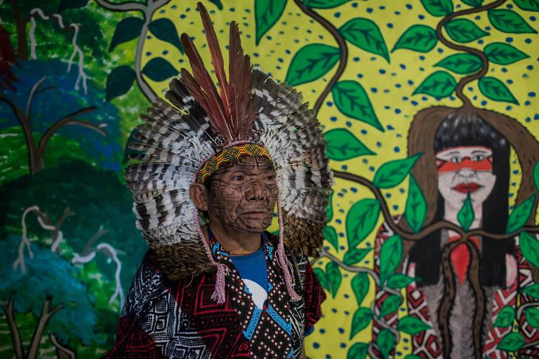 FOLHA DE SP: Mostra reúne estudos médicos de aldeias indígenas Acre