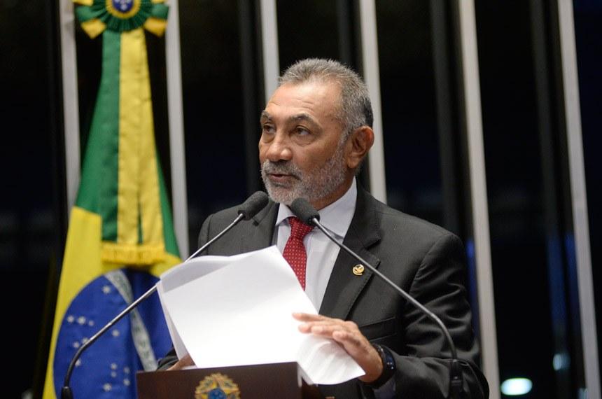 SENADO: Telmário defende aprovação de projetos em favor dos povos indígenas