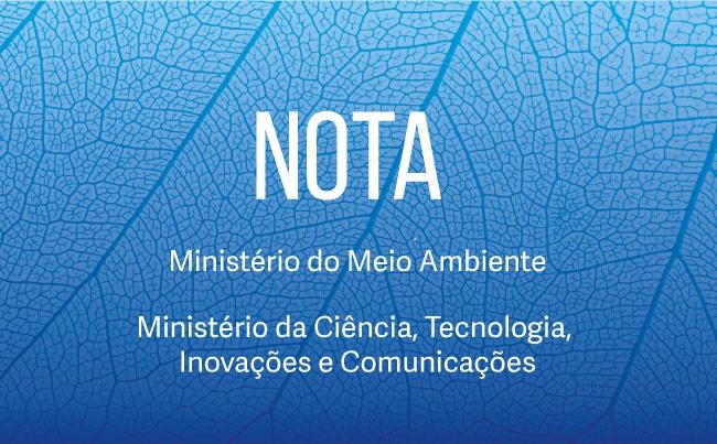 MINISTÉRIO DO MEIO AMBIENTE: Dados consolidados do desmatamento na Amazônia