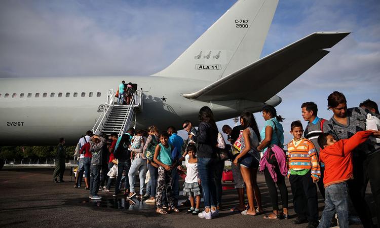 MINISTÉRIO DA DEFESA: Operação Acolhida: 233 venezuelanos são transportados para Manaus e São Paulo