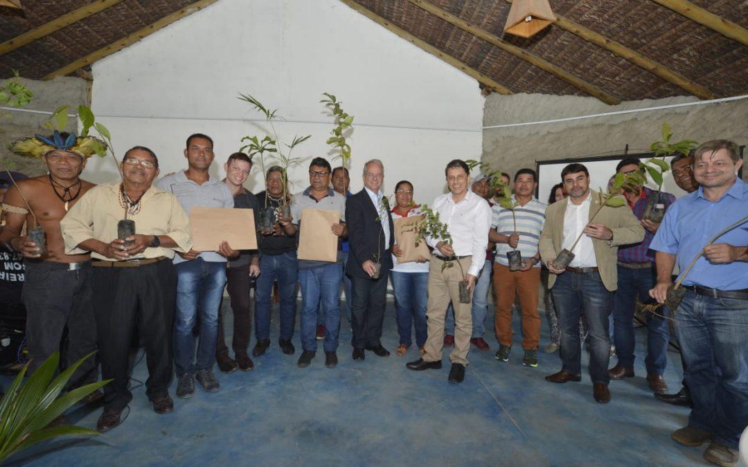FUNAI: Funai participa de evento em aldeia de Aracruz no Dia Mundial do Meio Ambiente
