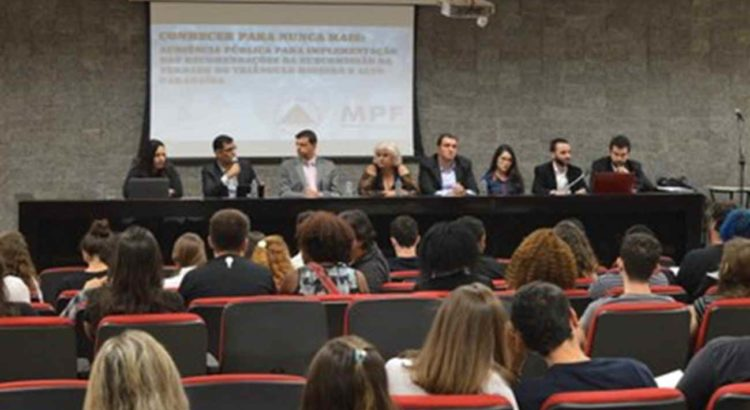 COMBATE RACISMO AMBIENTAL: MPF/MG: audiência pública discute efetivação de recomendações sobre crimes da ditadura militar