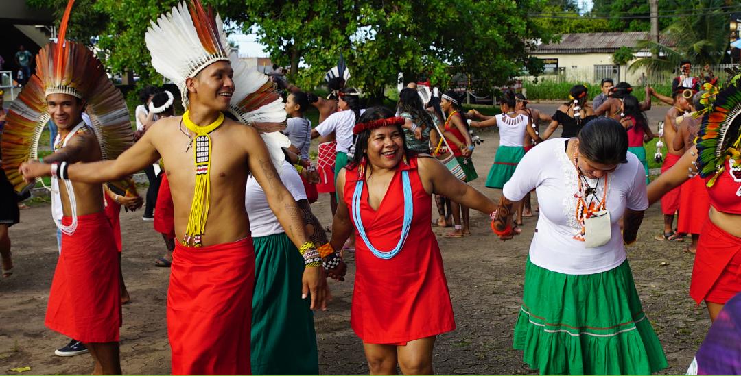 AMAZÔNIA REAL: O evento é uma realizado pela Coordenação das Organizações Indígenas da Bacia Amazônica (Coica) e reúne 1.500 lideranças de 40 etnias