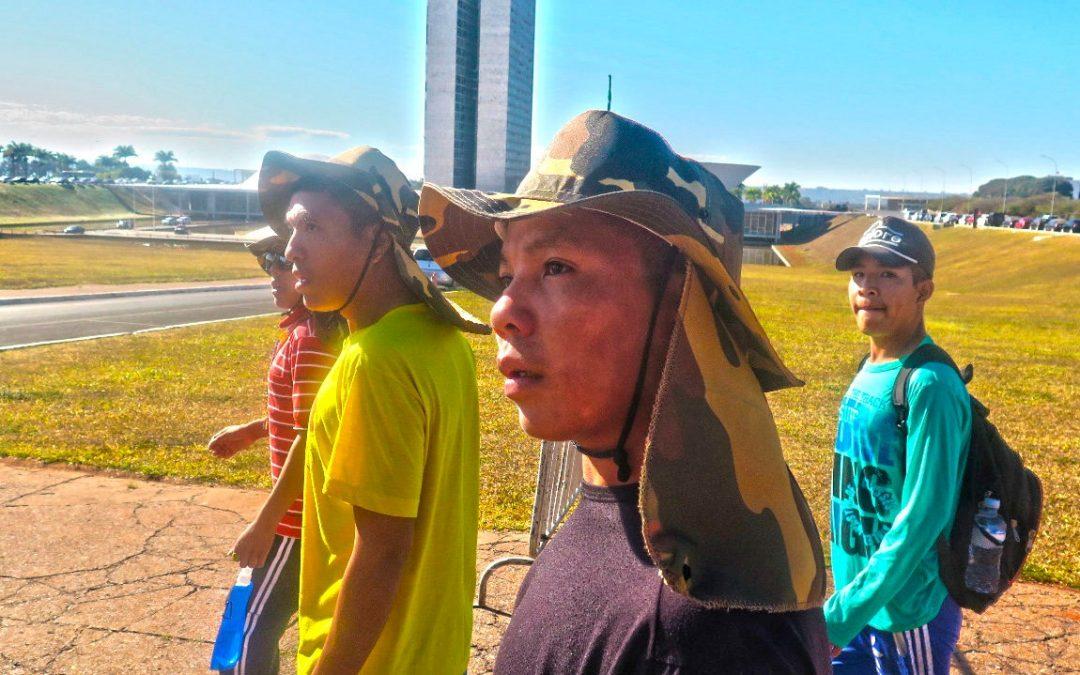 FUNAI: Povo indígena de recente contato visita Brasília