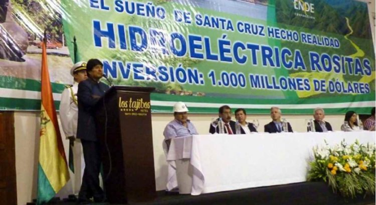 """COMBATE RACISMO AMBIENTAL: Bolivia: Proyecto hidroeléctrico Rositas: El despojo detrás de un """"sueño"""""""