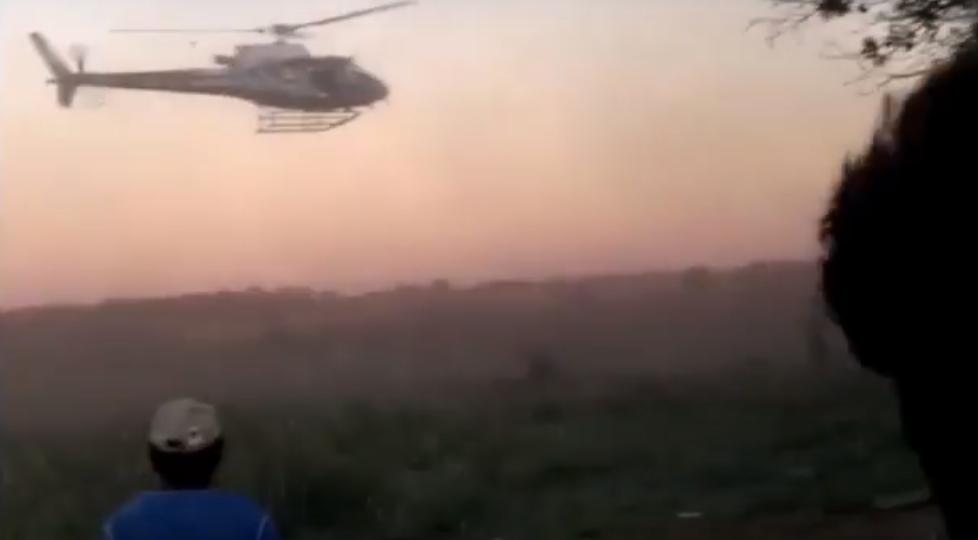 DE OLHO NOS RURALISTAS: Polícia Militar do MS retira à força Guarani Kaiowá de retomada em Caarapó