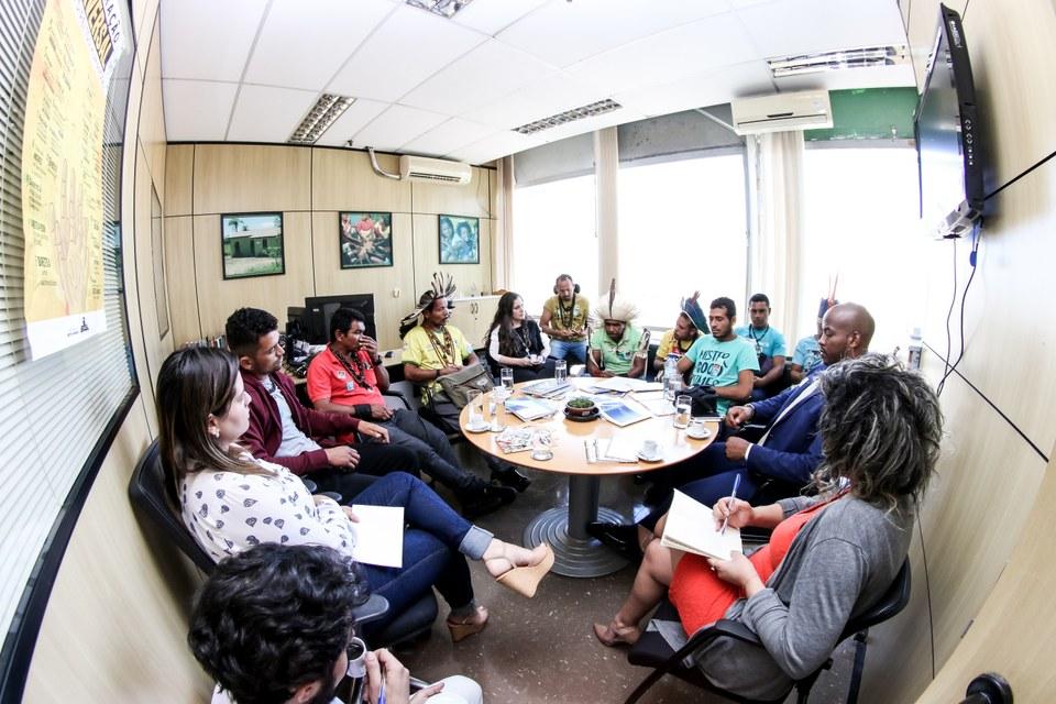 MDH: MDH recebe povos indígenas da região do sul da Bahia