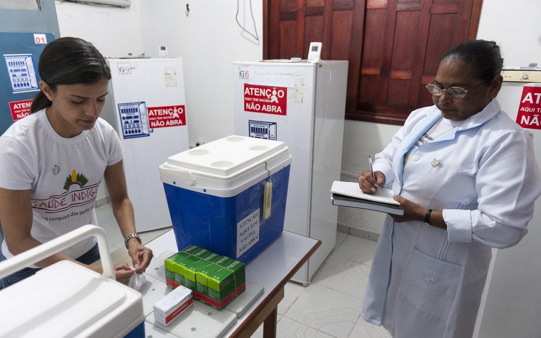 SESAI: DSEI Interior Sul realiza Capacitação em Sala de Vacina e Rede de Frio