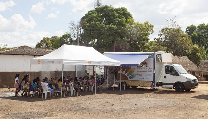 SESAI: Carreta oferta assistência odontológica de média complexidade em aldeia do Maranhão