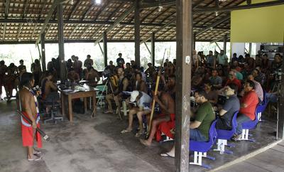 MPF: MPF participa de consulta prévia aos Wajãpi sobre mudanças em assentamento e na Floresta estadual do Amapá