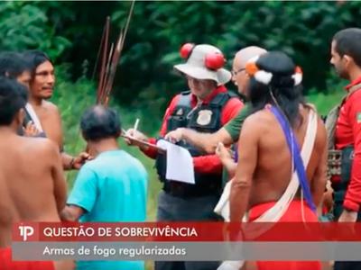 MPF: Mutirão do MPF e outros órgãos visita aldeia indígena para regularizar armas de fogo