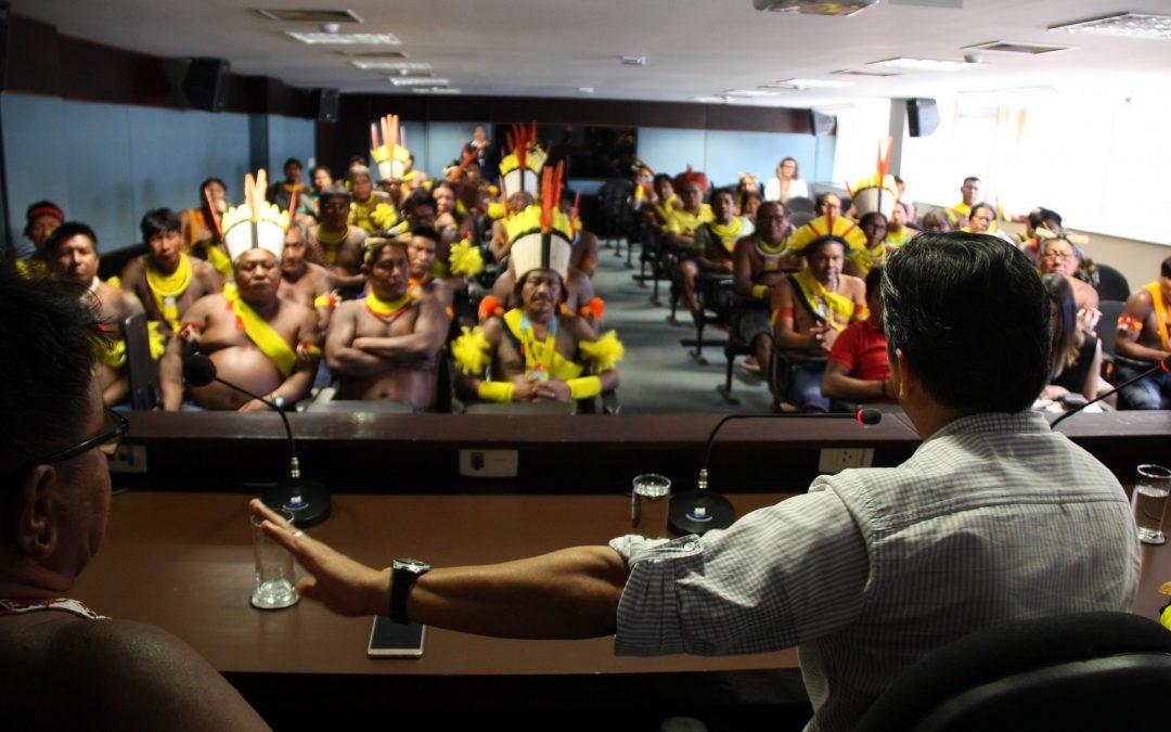 CIMI: Mais de 90 indígenas das etnias Xikrin e Kayapó participam de audiência no MPF