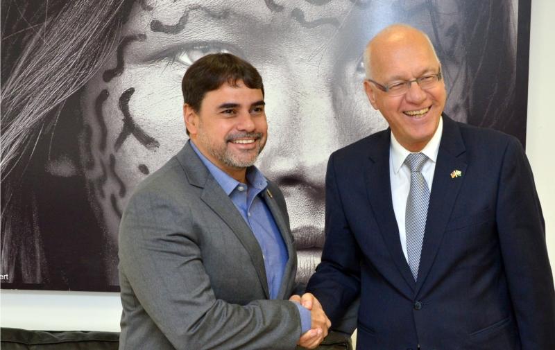 FUNAI: Funai recebe Embaixador da Alemanha e destaca a importância dos Projetos de Cooperação