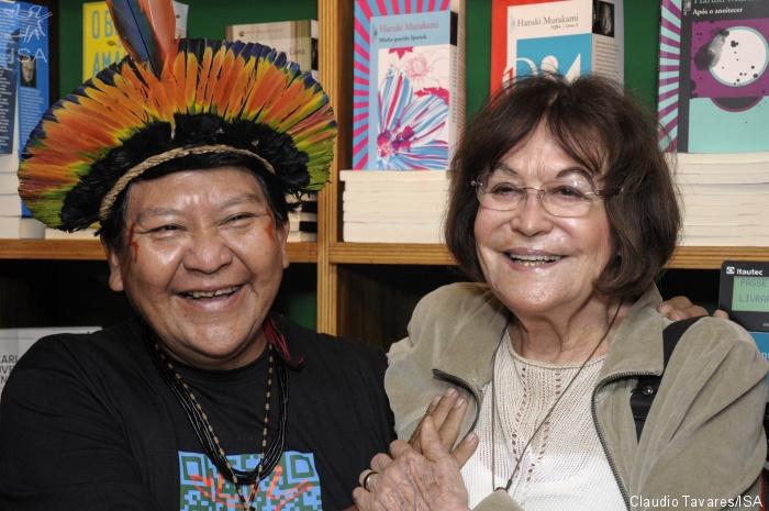 ISA: Fotógrafa Claudia Andujar é premiada por seu trabalho com os Yanomami