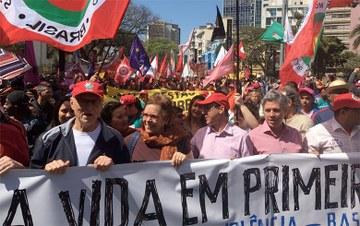 RBA: Gritos dos Excluídos associa luta por direitos e contra privilégios à derrota do golpe