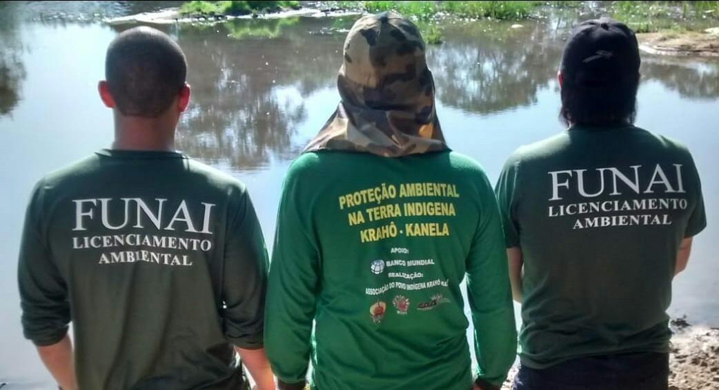 FUNAI: Povo Krahô-Kanela fiscaliza terra indígena e protege afluentes do Rio Araguaia, no estado do Tocantins