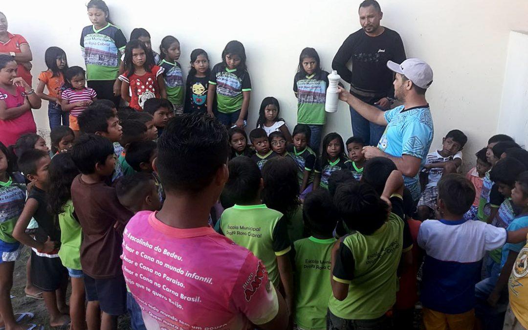 SESAI: SESAI cria 1º pelotão de saúde ambiental indígena em Barreirinha (AM)