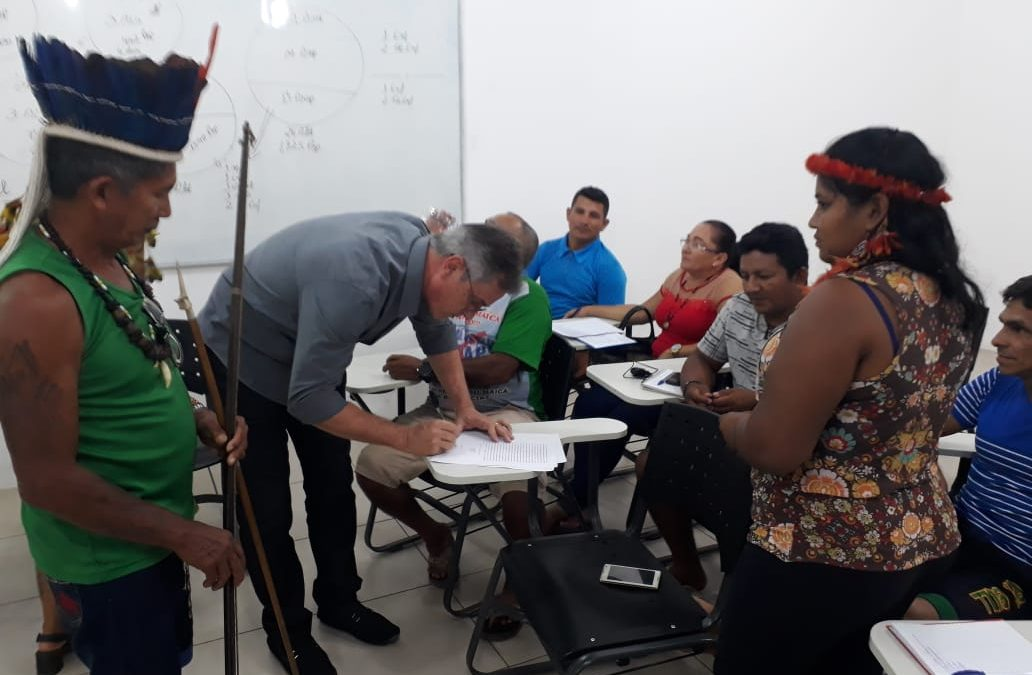 SESAI: Toccolini reúne-se com indígenas do Baixo Tapajós e Arapiuns, do Pará