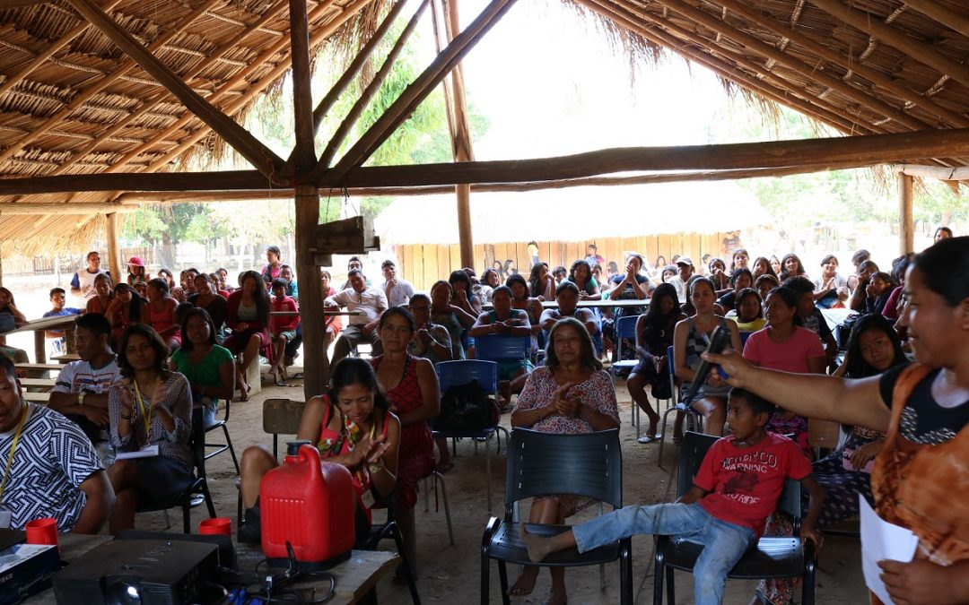 SESAI: Mulheres Kawaiwete organizam debate sobre saúde mental