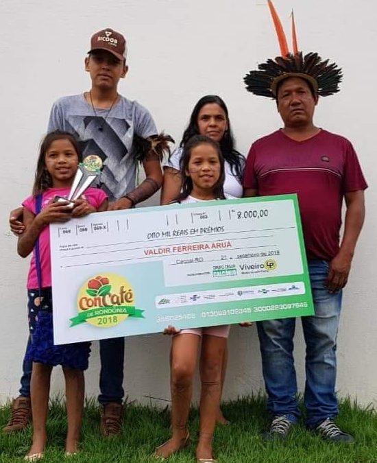 FUNAI: Povos Aruá, Suruí e Tupari recebem prêmio por cultivo familiar de café especial em Rondônia