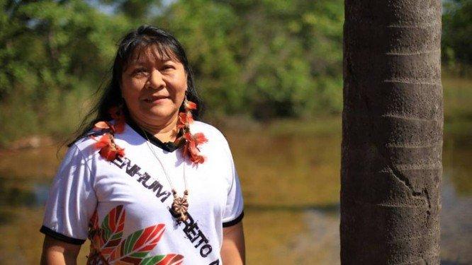 FUNAI: Funai entrevista Joênia Wapichana – a primeira mulher indígena a ser eleita deputada Federal no Brasil