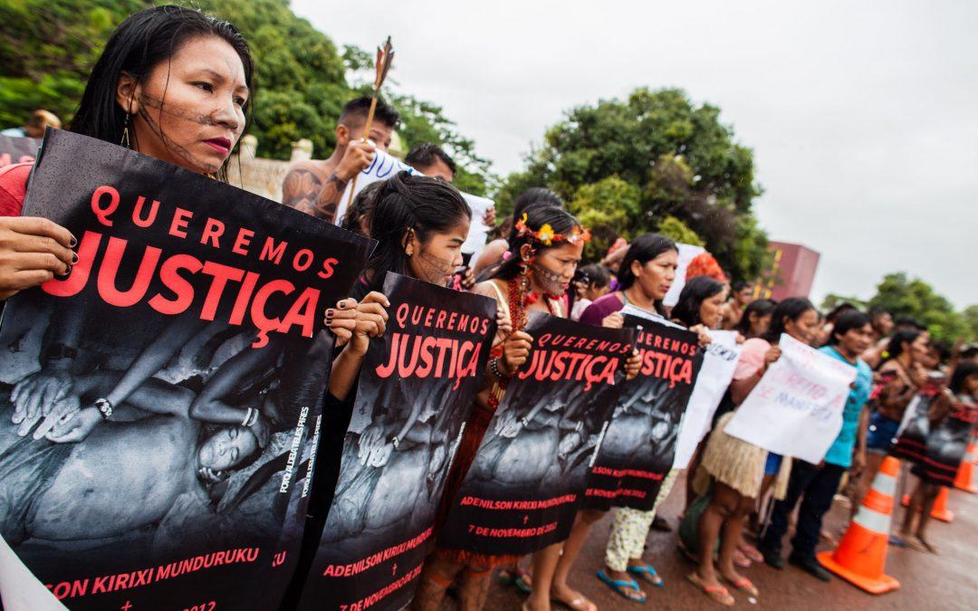AMAZÔNIA REAL: Em audiência sobre a morte de Adenilson Munduruku, delegado da PF nega autoria do crime; indígenas clamam por Justiça