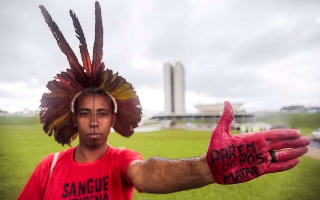 SURVIVAL INTERNACIONAL: Povos indígenas protestam contra novo projeto de mineração em suas terras