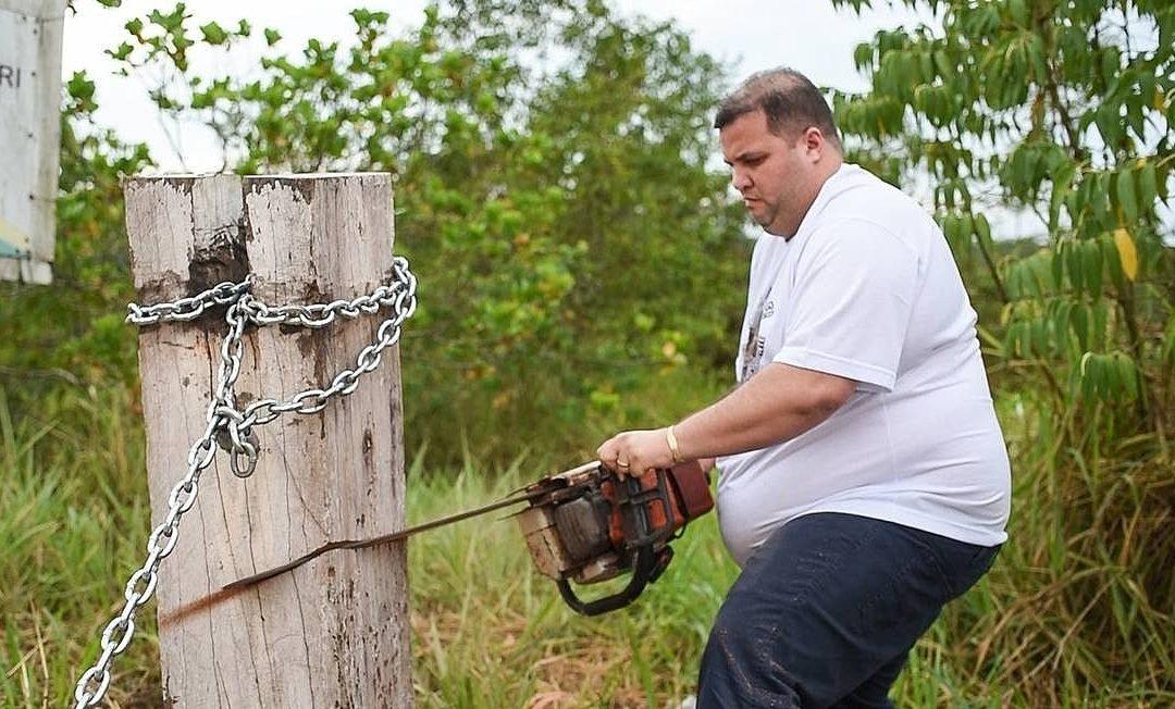BRASIL DE FATO: Indígenas Kinja recolocam corrente cortada por deputado de Roraima