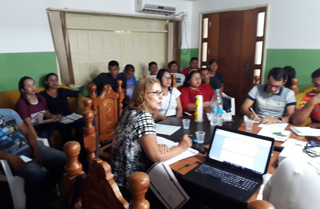 FUNAI: Funai discute políticas públicas para indígenas de Atalaia do Norte (AM)