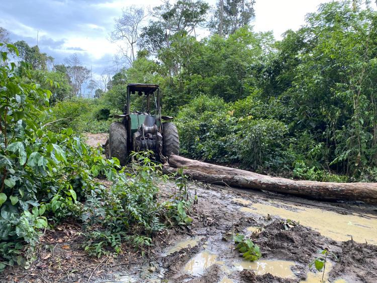 FUNAI: Operação apreende máquinas ilegais em terra indígena no Maranhão