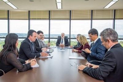 MPF: PGR e coordenadores de câmaras do MPF discutem política fundiária com ministra Tereza Cristina