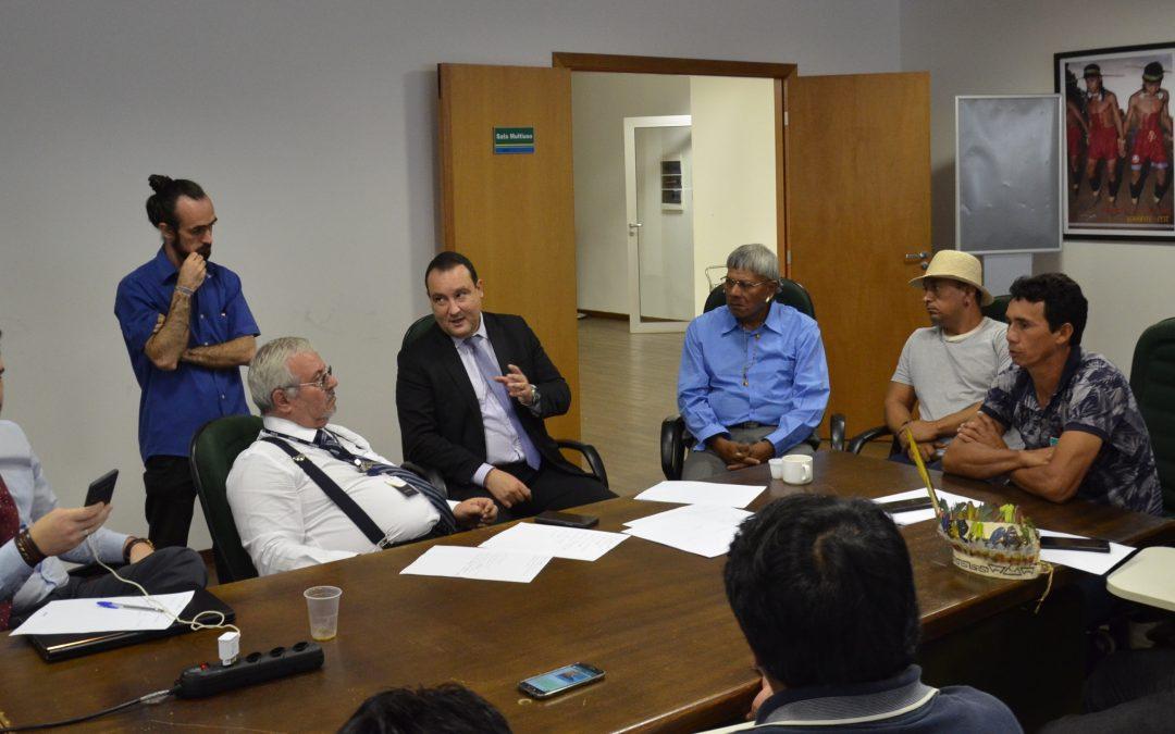 FUNAI: Funai discute etnodesenvolvimento com diferentes etnias indígenas