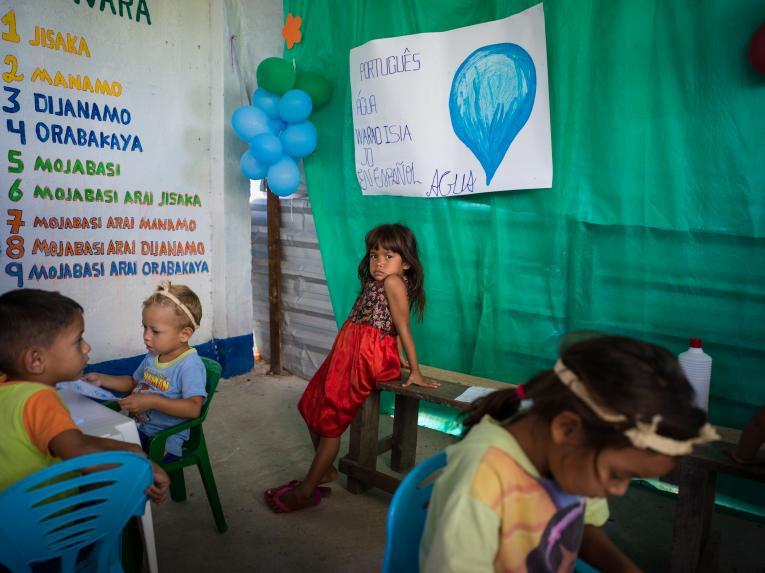 ONU BRASIL: Abrigos de Belém contarão com espaço UNICEF de integração de crianças refugiadas e migrantes
