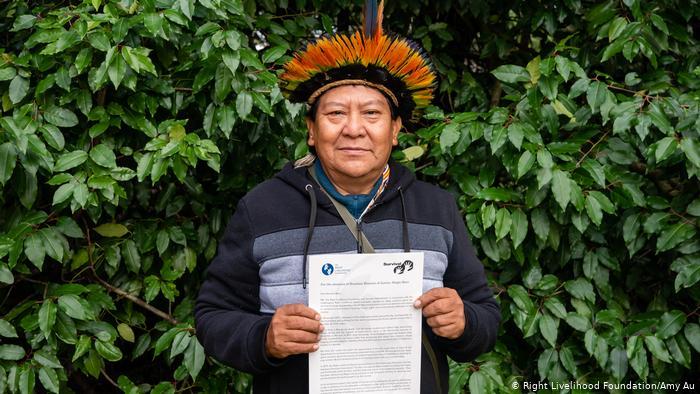 AMAZÔNIA NOTÍCIA E INFORMAÇÃO: Em carta a Moro, vencedores do Nobel Alternativo pedem proteção de indígenas
