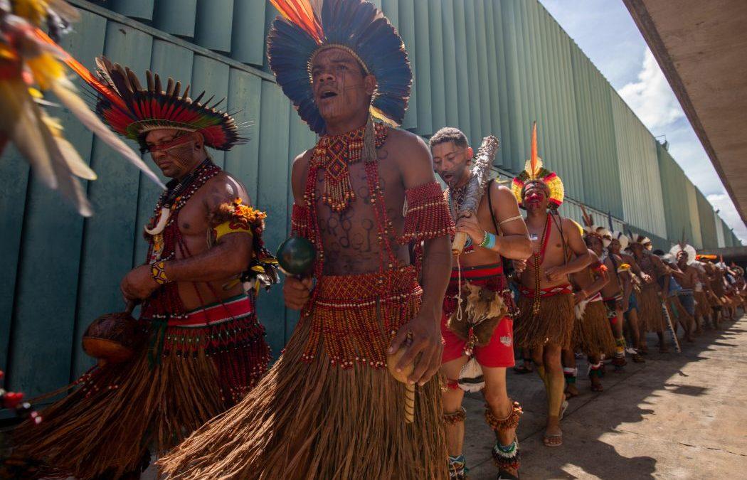 CIMI: Indígenas do sul da Bahia realizam marcha na Esplanada dos Ministérios contra retrocesso nas demarcações