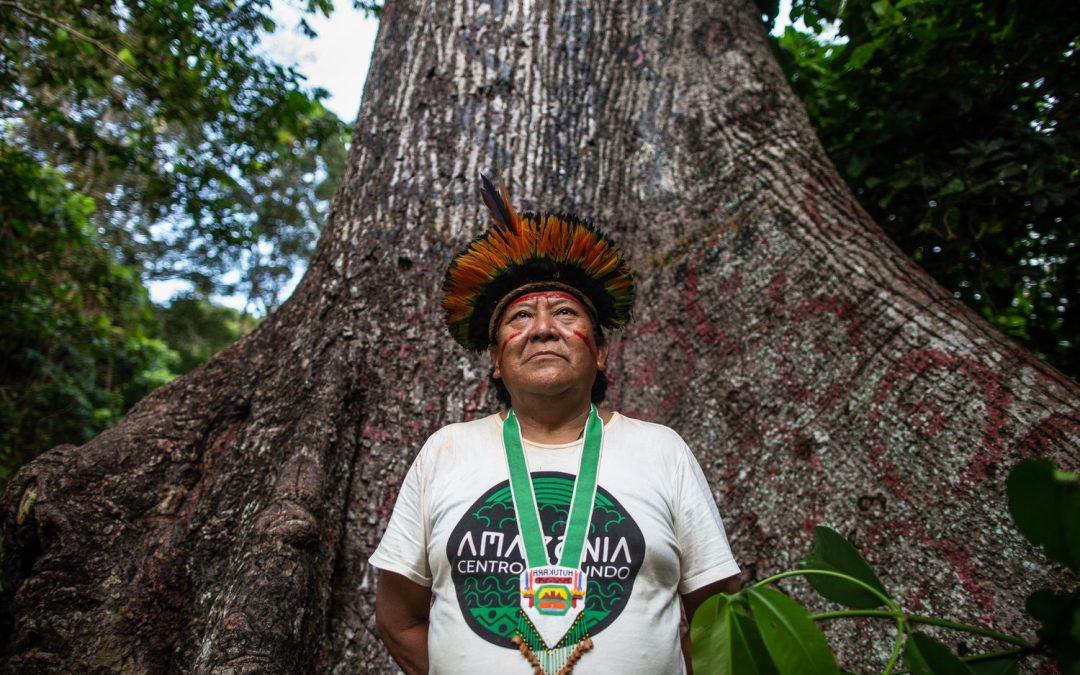"""AMAZÔNIA NOTÍCIA E INFORMAÇÃO: Davi Kopenawa: """"Os garimpeiros, sem dúvida, vão matar os índios isolados na área Yanomani"""""""