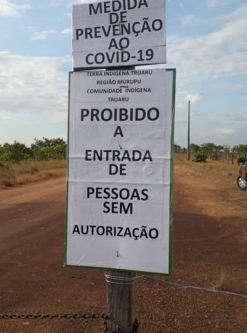 CIR: COMUNIDADES INDÍGENAS DE RORAIMA FECHAM O ACESSO AOS SEUS TERRITÓRIOS COMO MEDIDA DE PREVENÇÃO AO COVID-19