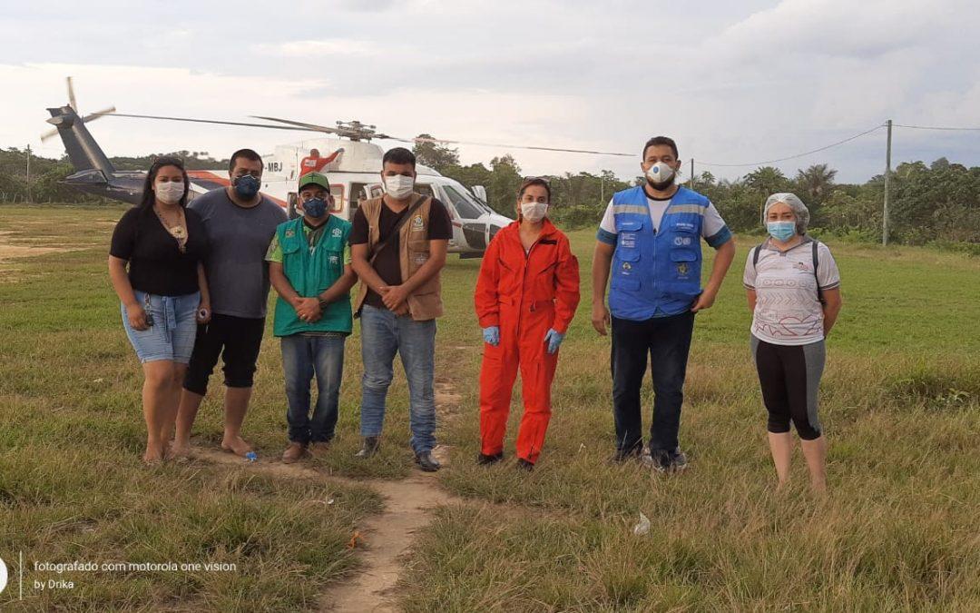 AMAZÔNIA REAL: Sesai monitora aldeia indígena Tikuna para evitar casos de coronavírus na Amazônia
