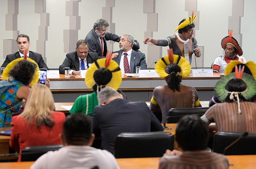 SENADO: Em audiência, líderes indígenas criticam atuação da Funai e pedem mais proteção