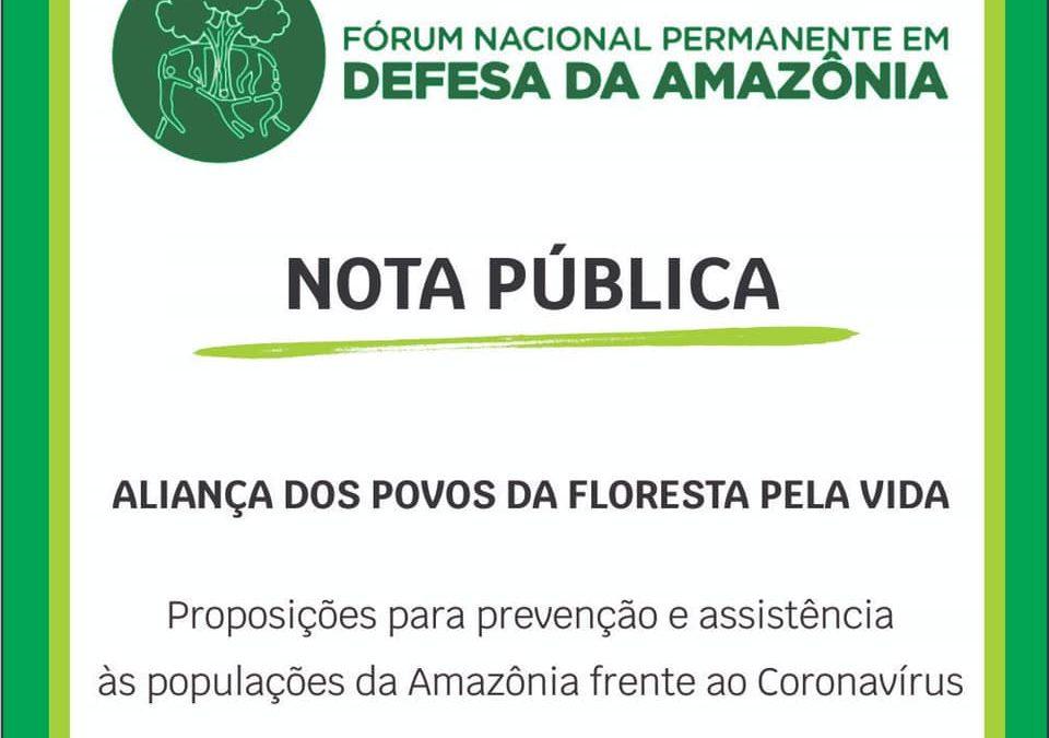 """IEPÉ: Nota Pública """"Aliança dos Povos da Floresta Pela Vida"""" diante do Coronavírus"""