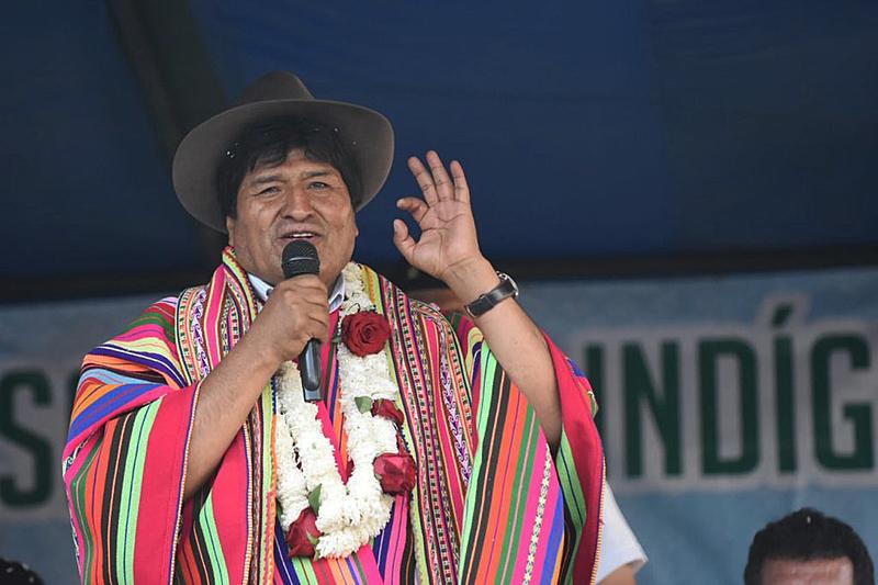 """BRASIL DE FATO: """"Foi um golpe ao índio, à população e pelo lítio"""", denuncia Evo Morales"""