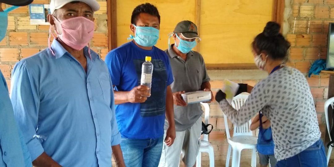 CIR: CORONAVÍRUS: CAMPANHA DE AJUDA EMERGENCIAL DO CIR CHEGA À TERCEIRA FASE E 210 FAMÍLIAS SÃO BENEFICIADAS