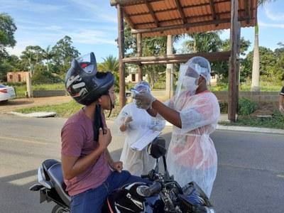 MPF: Covid-19: MPF viabiliza implantação de barreiras sanitárias nas aldeias indígenas de Caieiras Velha e Irajá, no Espírito Santo