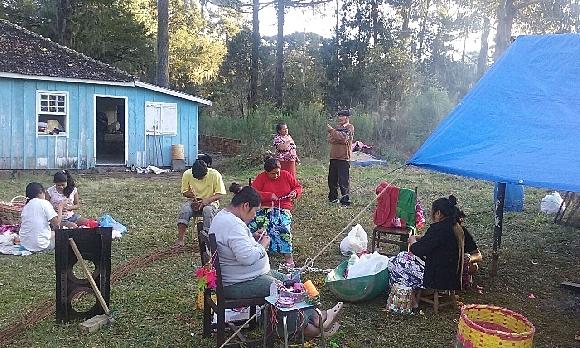 BRASIL DE FATO: Indígenas Kaingang na luta pela permanência em território ancestral