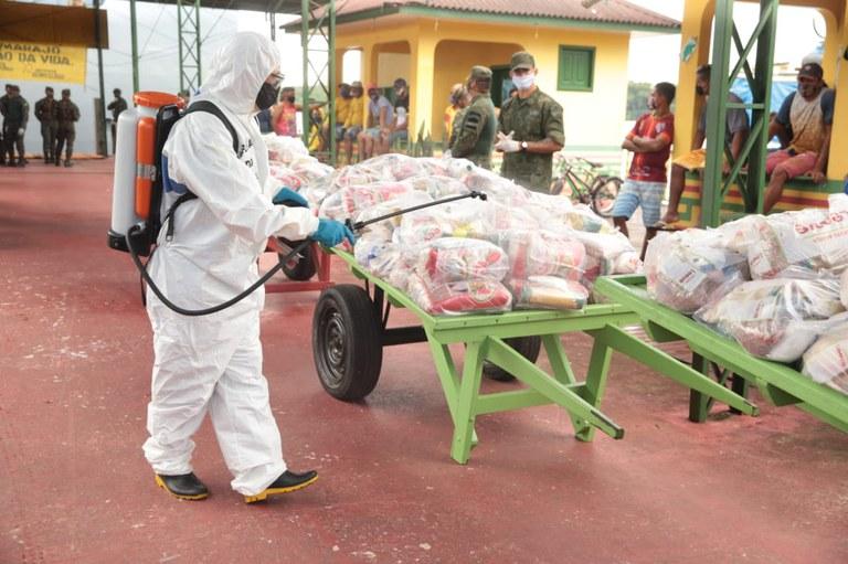 MMFDH: Covid-19: Distribuição de cestas de alimentos contempla mais de 2 mil famílias em comunidades indígenas e quilombolas no Piauí