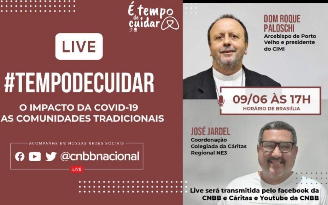 """CNBB: """"O impacto da Covid-19 nas comunidades tradicionais"""" é tema da live de hoje"""