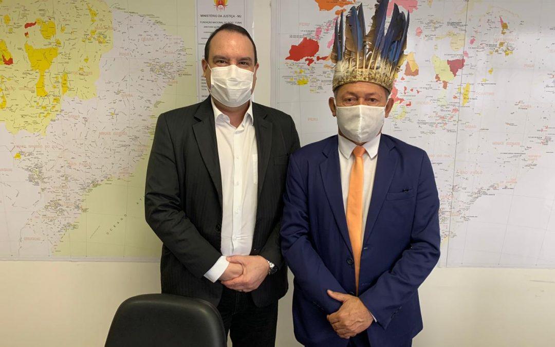 FUNAI: Marcelo Xavier e parlamentar discutem ações de proteção aos povos indígenas