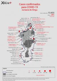 ISA: Covid-19 avança sobre o Xingu