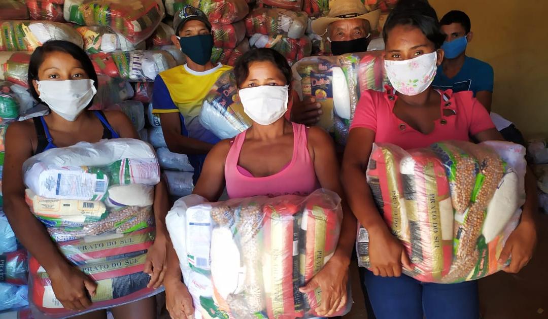 FUNAI: Covid-19: Funai distribui mais 17,8 mil cestas básicas cestas a indígenas da Região Sudeste
