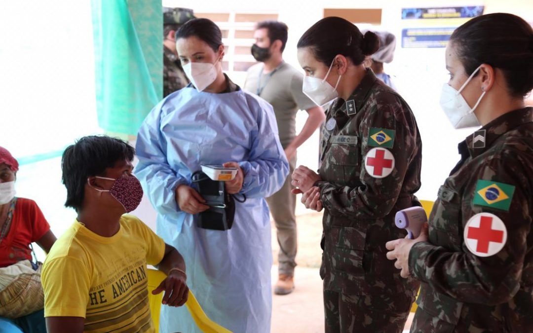 DEFESA: Ministérios da Defesa e da Saúde finalizam 1ª etapa de atendimento médico a indígenas Xavante